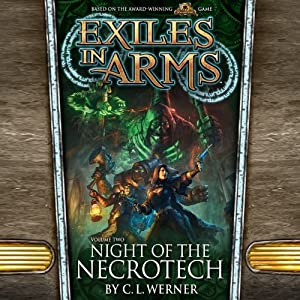 Night of the Necrotech Hörbuch