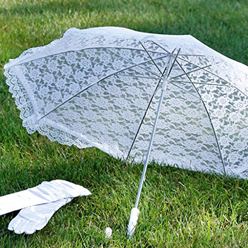 Darice 35058 1 Embroidered Parasol 32 Inch