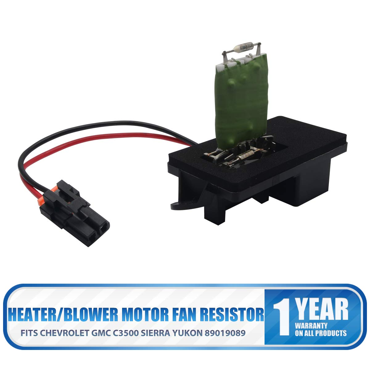 HugeAuto Heater/Blower Motor Fan Resistor Fits Re nault/Re nault Clio MK3 Modus 7701209103