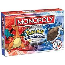 USAOPOLY Monopoly Pokemon Kanto Edition