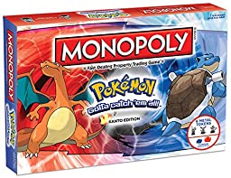 MONOPOLY: Pokemon Kanto Edition