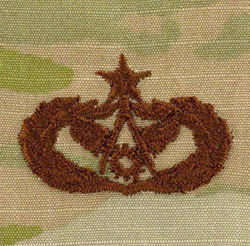 (Vanguard AIR Force Embroidered Badge: Civil Engineer Senior ON OCP)