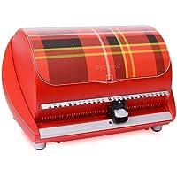 A N Enterprise Selector 50FX 50-Disc CD Case w/Title Sheet - Red