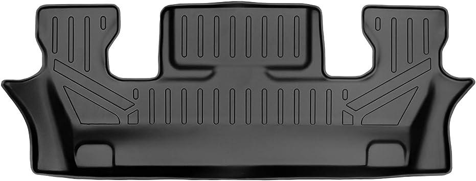 SMARTLINER Custom Fit Floor Mats 1st Row Liner Set Black for 2015-2016 Ford Explorer