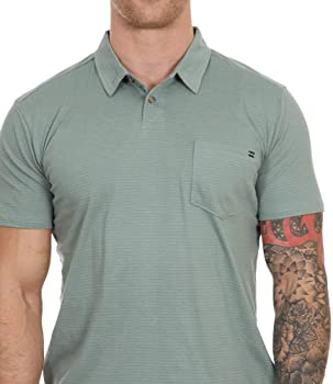 BILLABONG - Polo - para Hombre Verde Dust Green X Large: Amazon.es ...