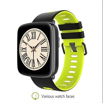 Smart watch Reloj Inteligente Mujer Hombre Reloj Deportivo con Llamada SMS Recordatorio Podómetro Monitor de Sueño