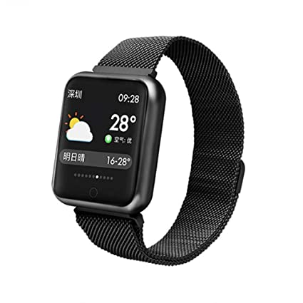 ZLOPV Pulsera 2019 Men P68 Smart Watch Women Presión Arterial ...