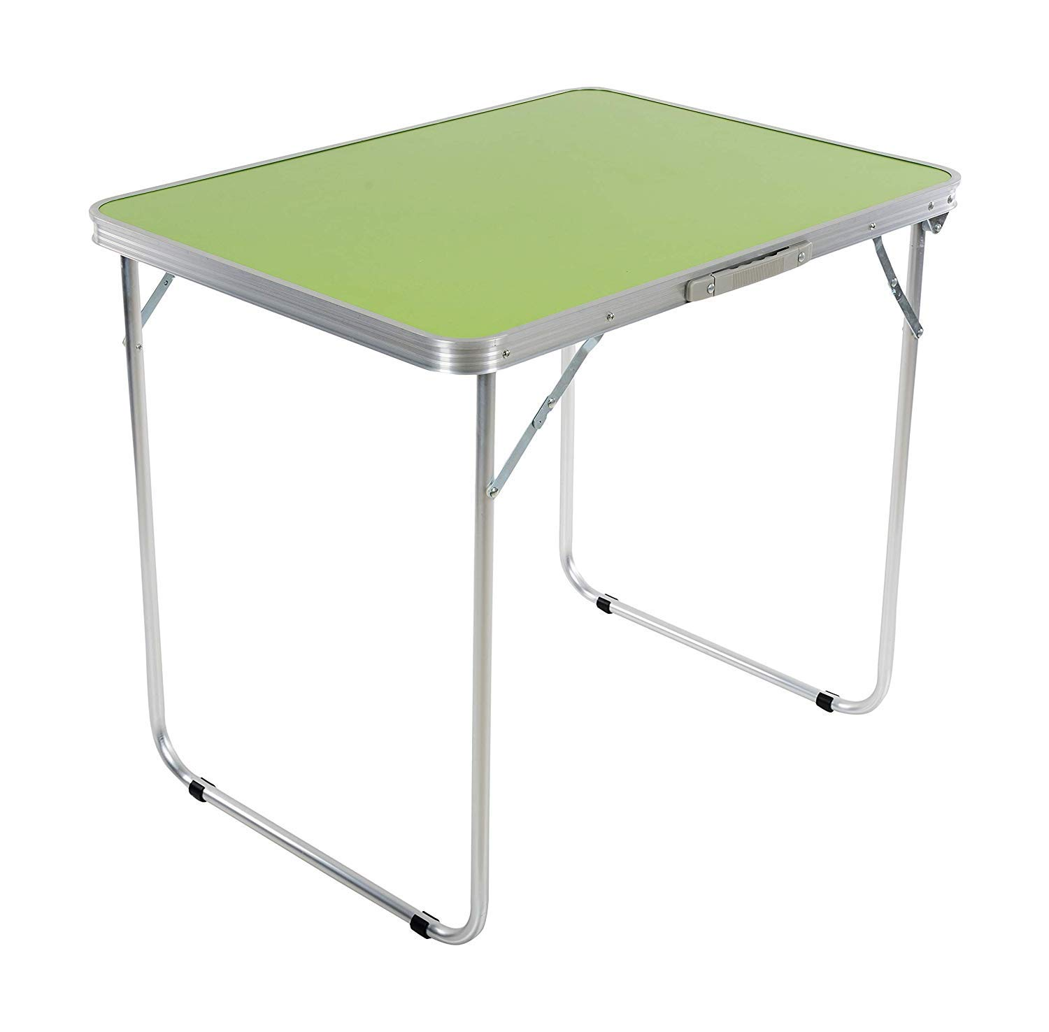 Kurtzy Aluminium Folding Table with Portable Carrying Handle for Picnic  Camping Outdoor (5x5x5cm)