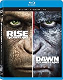 Rise Of The Planet Of The Apes + Dawn Of The Planet Of The Apes Double Feature Blu-ray