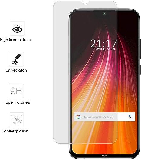 Protector Cristal Templado para Xiaomi Redmi Note 8T Vidrio ...