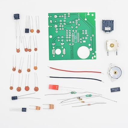 amazon com puuli m28s 9018 tda7021t ka22429 fm radio receiver plateFm Receiver With Tda7021t #2