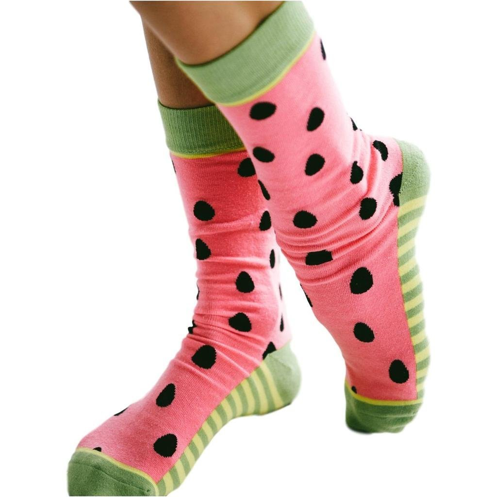 One in a Melon Socks by The Sleepy Cottage