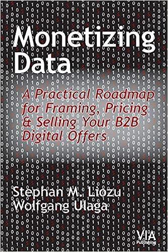 Monetizing Data