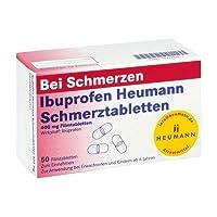Ibuprofen Heumann Schmerztabletten 400 mg, 50 St. Filmtabletten