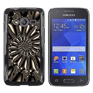 TECHCASE**Cubierta de la caja de protección la piel dura para el ** Samsung Galaxy Ace 4 G313 SM-G313F ** Pattern Spiral Art Wallpaper Design Universe