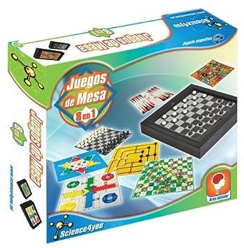 Science4you Juegos De Mesa 8 En 1 394728 Amazon Es Juguetes Y Juegos