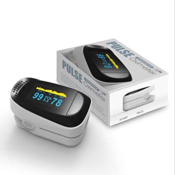 Qumox Finger Fingertip Blood Oxygen Meter OLED Pulse: Amazon
