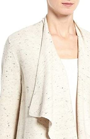 f811feccd6daac Image Unavailable. Image not available for. Color: Eileen Fisher Womens Wool  Open Front Cardigan ...
