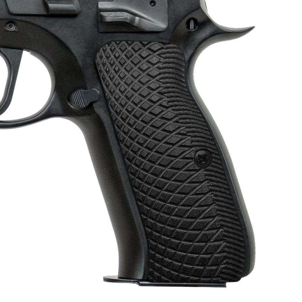 Cool Hand CZ 75 Full Size G10 Grips, Snake Scale Texture, Brand, Black, H6-2-1 by Cool Hand