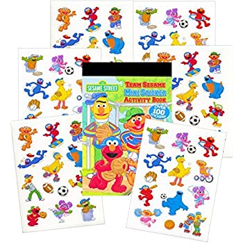 Sesame Street Reward Stickers & Activity Book - 100 Stickers!