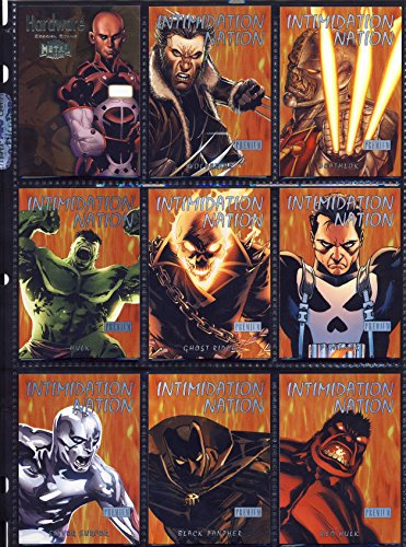 2013 Fleer Marvel Retro SINGLE Insert Card Intimidation Nation IN7 Black Panther