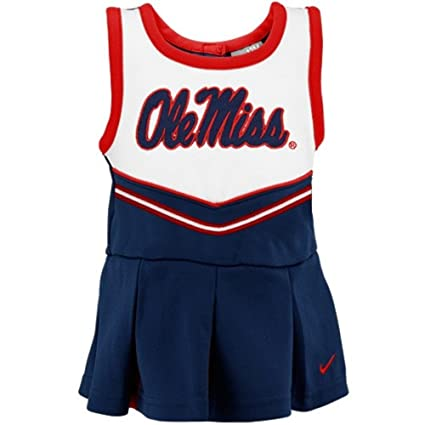 be9721a02 Amazon.com   Nike Ole Miss Rebels Baby Infant Cheerleader Dress and ...