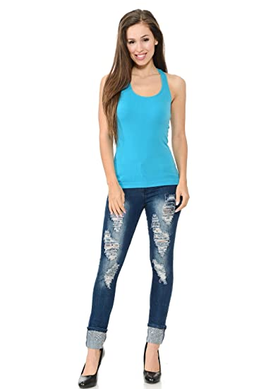 b3fc84d534 Diamante Fashion Women s Blouse · Style B101 · Aqua · Size One-Size ...