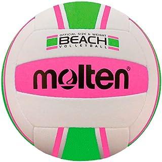Molten Ms500-bvpg Loisirs Volleyball de Plage Rose/Vert