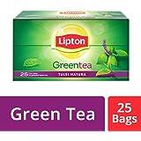 Lipton Tulsi Natura Green Tea Bags, 25 Pieces