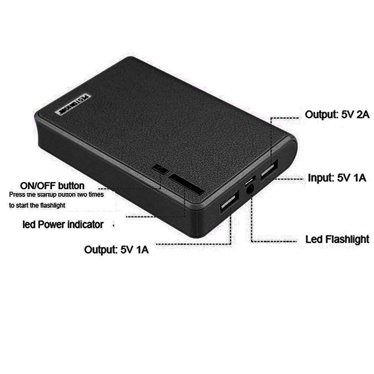 Amazon.com: 12000mAh Portable Charger External Battery Power ...