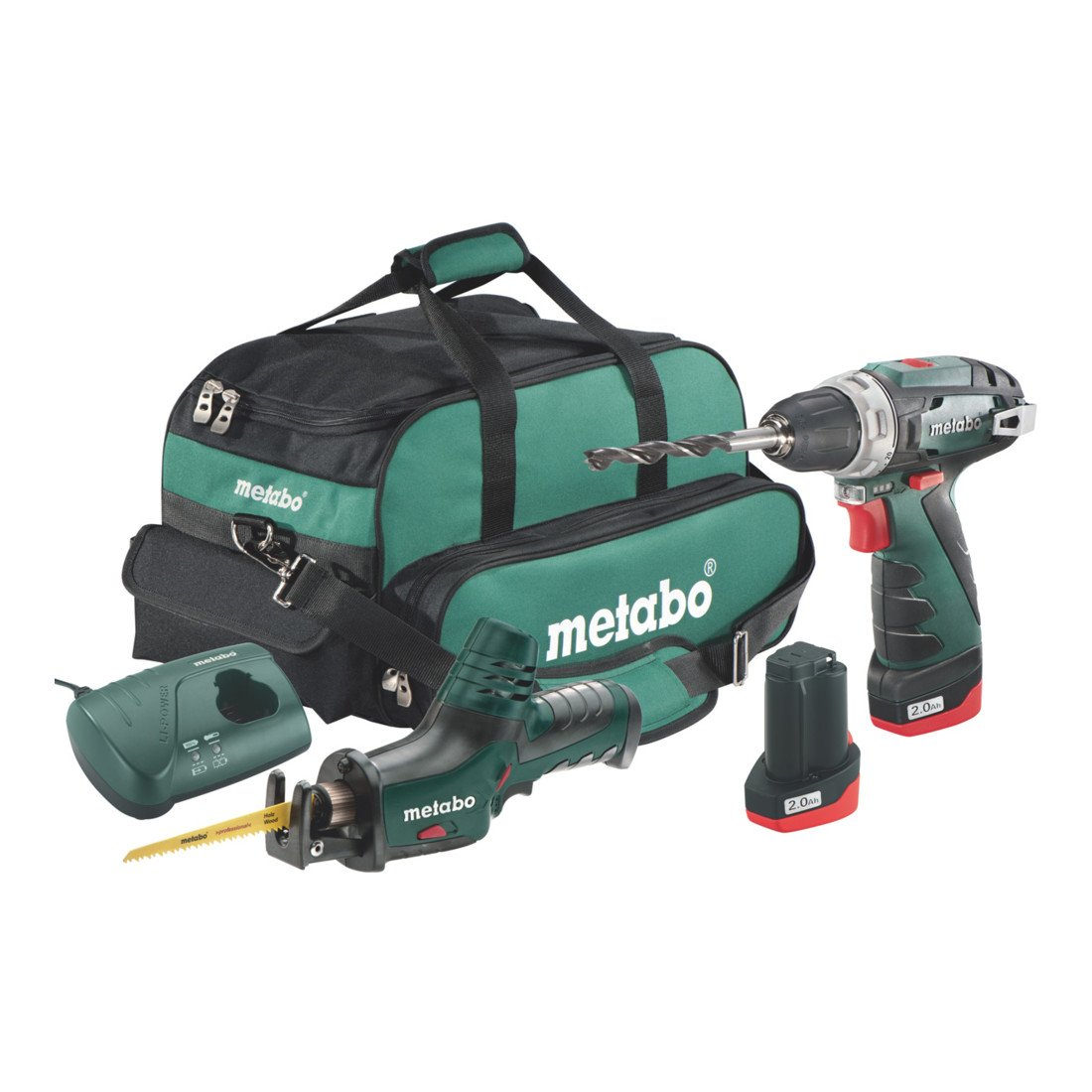 Metabo 6.85056.00 Akku-Combo Set 2.4 BS Basic + ASE