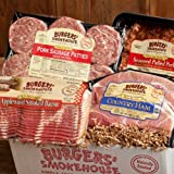 Our sampler includes delicious Southern delights that will be the hit of any meal, anywhere! Award winning Applewood Smoked Bacon (Blue Ribbon Bacon Festival 1st Place) will please your bacon Connoisseur, and Country ham bacon is a true Sout...