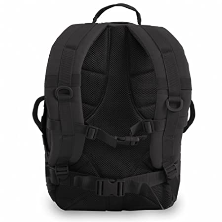 Amazon.com : Highland Tactical Brand Major Black Backpack - HL-BP-60-BK : Sports & Outdoors