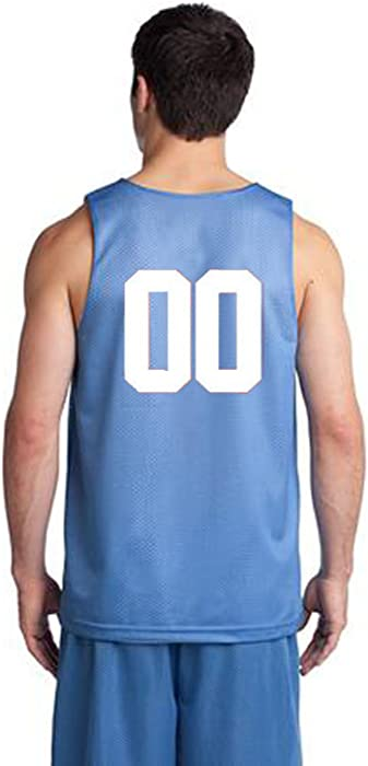 fbbaca39c ... Back of Both Sides. OnTheField Custom Basketball Jersey - Numbers Only  (XXX-Large