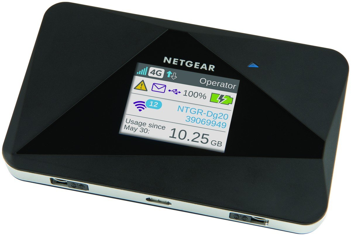 Netgear AC EUS Router móvil con pantalla color AirCard G G WiFi