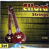 Sitar Strings, Ellora Roselu, Professional, with sympathetic (tarabh) strings.