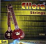 Sitar Strings, Ellora Roselu, Professional, with Sympathetic (Tarabh) Strings