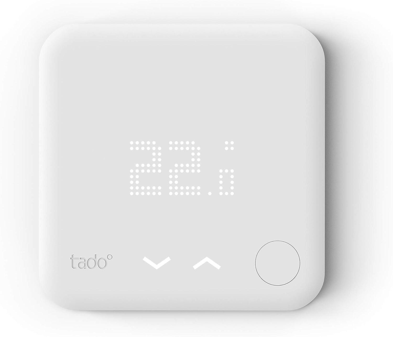 tado° Thermostat Intelligent filaire - Accessoire pour le contrôle multi-pièces, contrôle de...