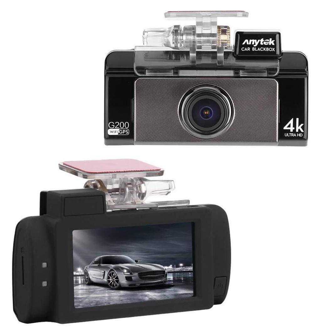 Adoeve 2.7 inch Touch Screen Car Driving Recorder Car DVR Camera in-Visor Video