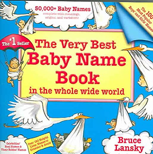 Name Very Baby Best Book (The Very Best Baby Name Book in the Whole Wide World)