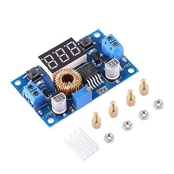 einstellbarer hoher Wirkungsgrad Spannungsregler Step Down Modul 5A 4.0V ~ 38V bis 1.25V ~ 36V DC-DC Buck Converter