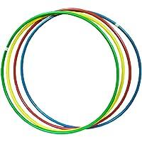Carlu Brinquedos - Bambolê Colorido Jogo de Coordenação, 4+ Anos, Multicolorido, 109310