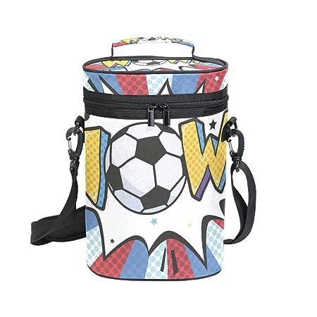 Ahomy - Bolsa para botella de vino, diseño de balón de fútbol ...