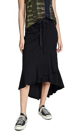 9963bd1ba Amazon.com: Wilt Women's Shifted Overlay Long Skirt: Clothing