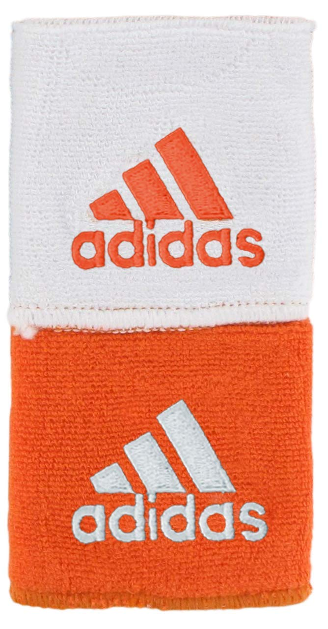 adidas Unisex Interval Reversible Wristband, Team Orange/White White/Team Orange, ONE SIZE by adidas