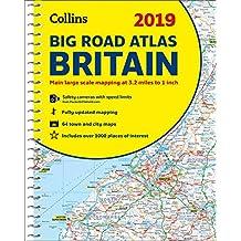 2019 Collins Big Road Atlas Britain