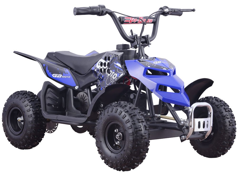 Mini Monster 24v 250w ATV Blue by MotoTec