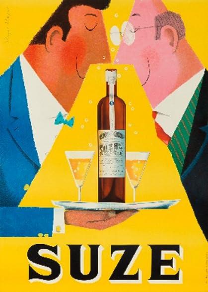 Amazon.com: Suze Vintage Poster (artist: Mayer) Switzerland c. 1955 ...