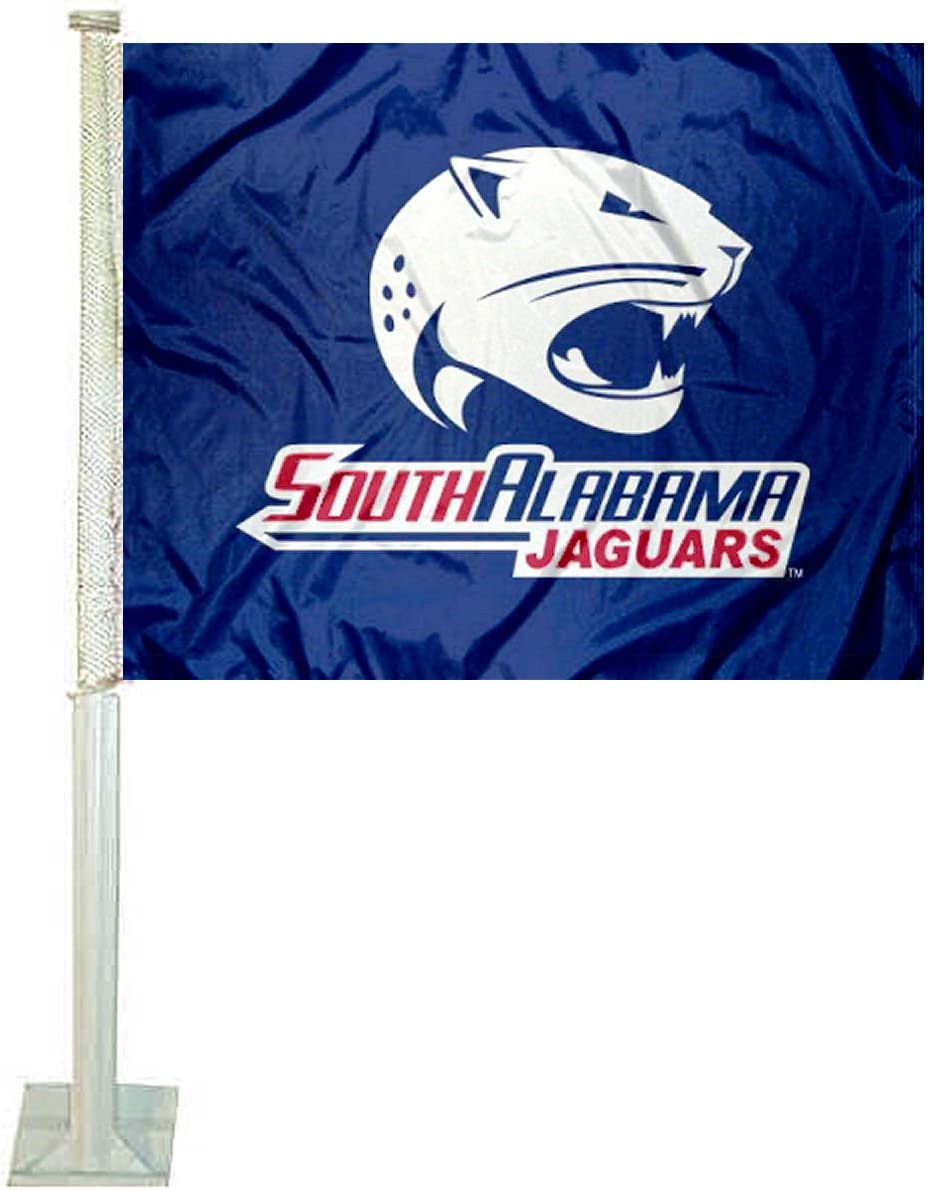 USA Jaguars Car and Auto Flag College Flags /& Banners Co