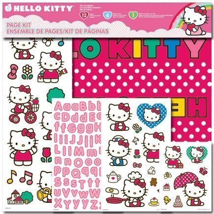 SandyLion Page Kit Hello Kitty 12x12
